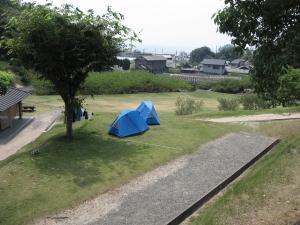 テント専用サイト-1